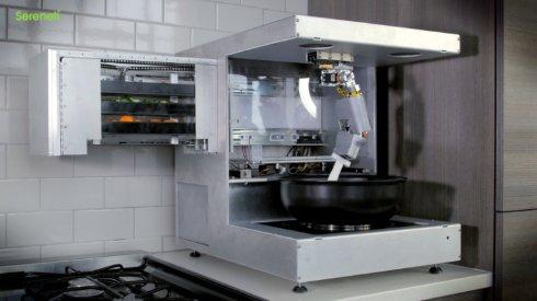 Робот Cooki — незаменимый кухонный помощник