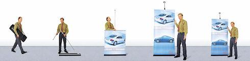 Roll Up стенды – доступная и эффективная реклама