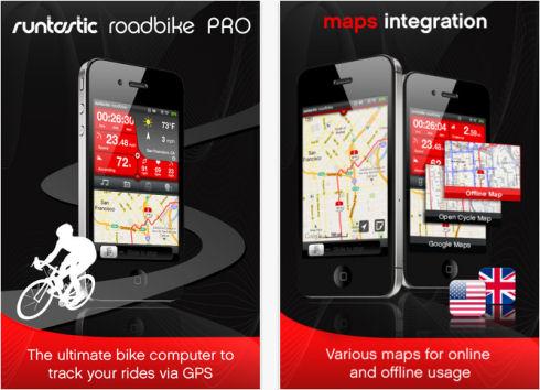 Runtastic превратил iPhone в велокомпьютер