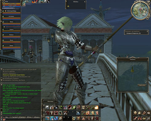 Рыбалка в Lineage 2: Asterios.tm