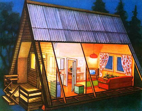 Садовый домик с самого начала