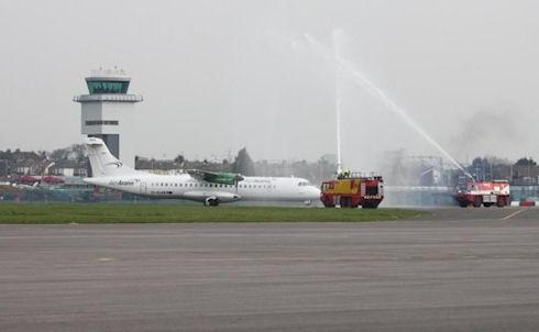 В Англии едва не произошло столкновения квадрокоптера и пассажирского самолёта