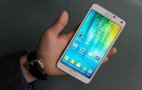 Samsung снова поднимет цену на GALAXY Note 4