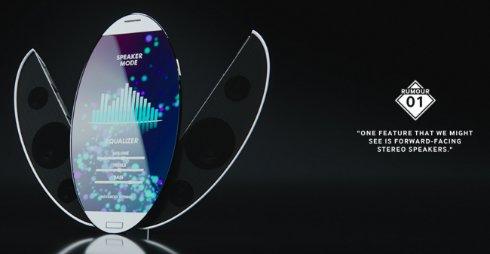 Samsung показала прозрачный Galaxy S6 и смартфон с трехсторонним дисплеем