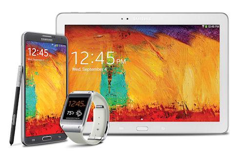 Samsung рассказала про следующее поколение Galaxy, Gear и Note