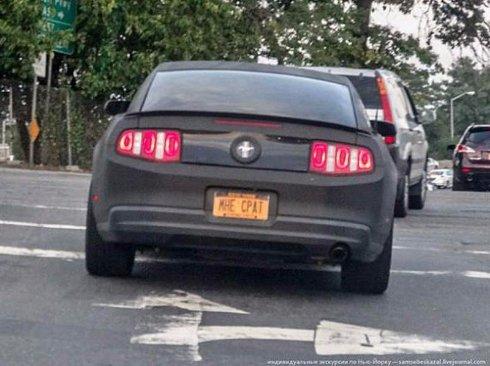 Самые необычные номерные знаки автомобилей (Фото)
