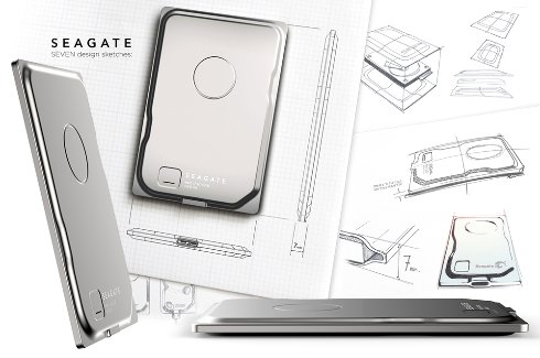 Seven – самый тонкий внешний жёсткий диск от Seagate