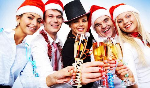 Открываем сезон новогодних корпоративов