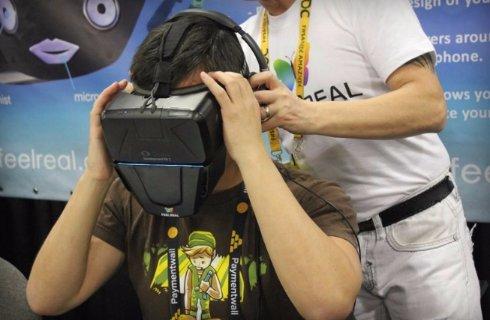 Шлем виртуальной реальности дополнят генератором запаха