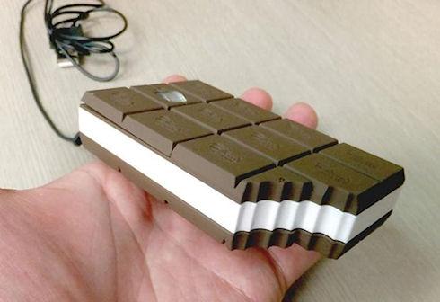 «Шоколадная» компьютерная мышь — гаджет для любителей сладкого