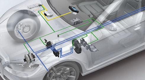 Система энергообеспечения и пуска двигателей