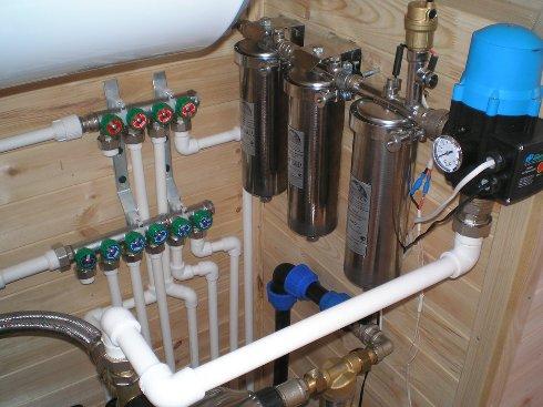 Системы водоснабжения загородного дома