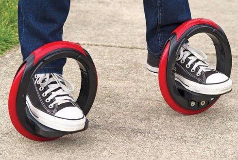 Скейтборд «скрестили» с роликовыми коньками и вот что получилось