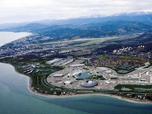 Сочи — город гениальных архитектурных творений