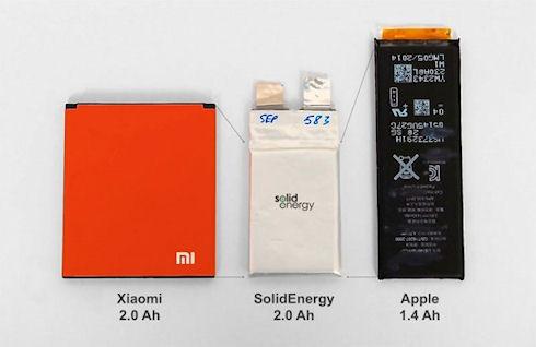 SolidEnergy выпустит аккумуляторы высокой емкости