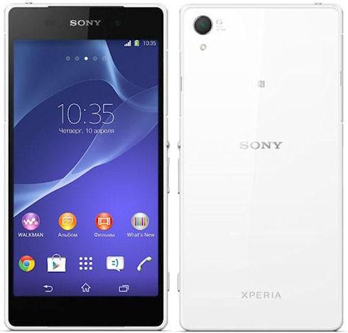 Обзор мобильного телефона Sony Xperia Z2