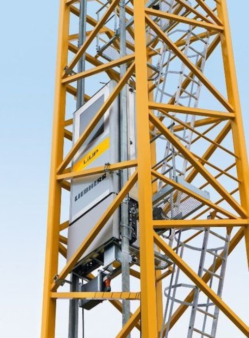 Создан инновационный лифт для кранов