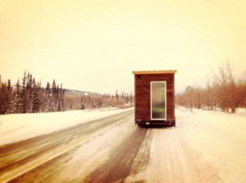 Создан уникальный дом на колёсах для холодных стран