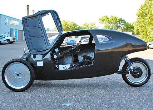 Создан велосипед, способный разгоняться до скорости автомобиля