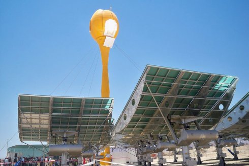 Создана электростанция, работающая на энергии солнца