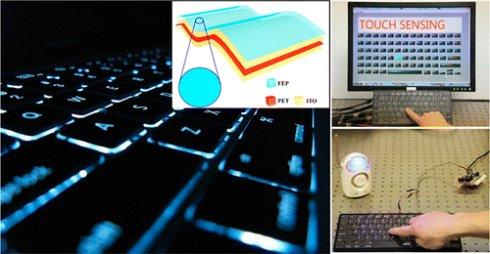 Создана клавиатура, которая вырабатывает электричество