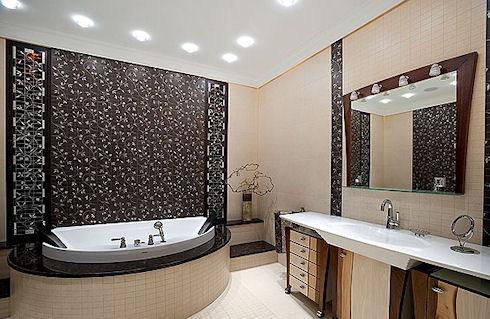 Создание интерьера для ванной комнаты