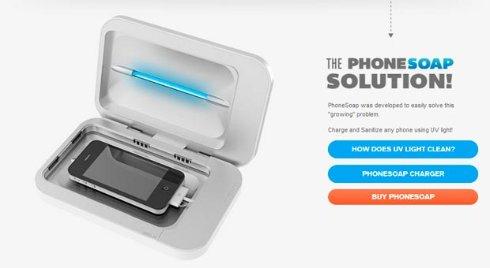 Создано устройство для борьбы с микробами на смартфоне