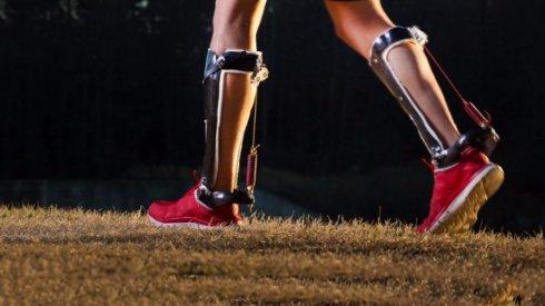 Созданы экзоскелетные ботинки, уменьшающие затрату энергии при ходьбе