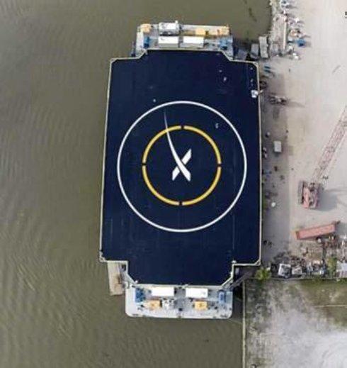 SpaceX приступила к тестированию посадочных площадок для космических кораблей