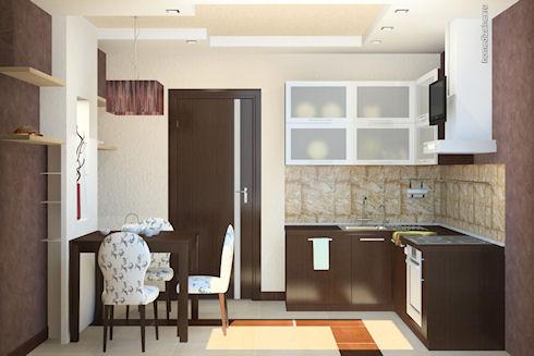 Как спланировать маленькую кухню