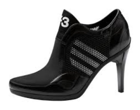Спортивная обувь на каблуках