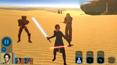Star Wars Knights of the Old Republic добралась до Android