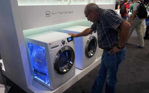 Стиральные машины на выставке IFA 2013