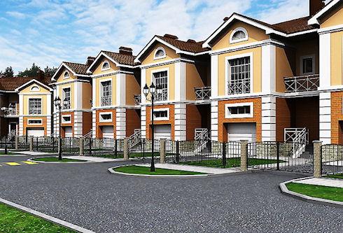 Таунхаусы — новое направление в строительстве жилья