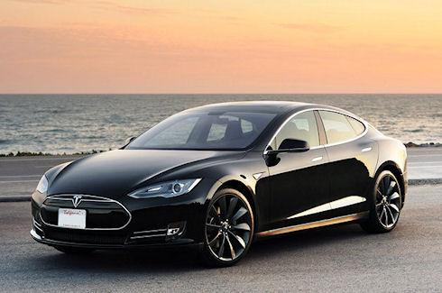 Электромобиль Tesla Model S пришел на европейский авто-рынок