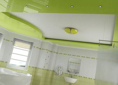 Типы и виды профилей и полотна для натяжных потолков