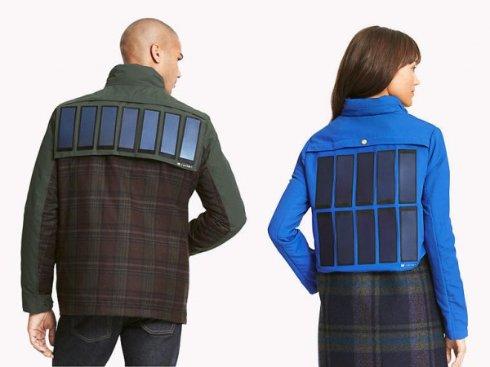Презентация курток с солнечными батареями от Tommy Hilfiger