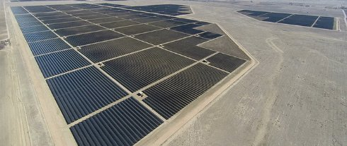 В Калифорнии заработала солнечная электростанция, являющаяся крупнейшей в мире