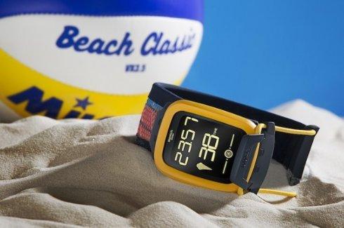 Touch Zero One — «умные» часы для любителей пляжного волейбола