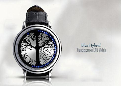 Светодиодные сенсорные часы Tree Dial