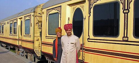 Турне по Индии на поезде