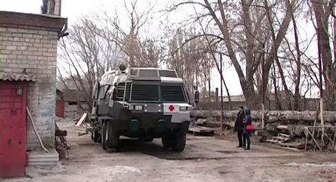 Украинские инженеры создали госпиталь «на колёсах» (ВИДЕО)