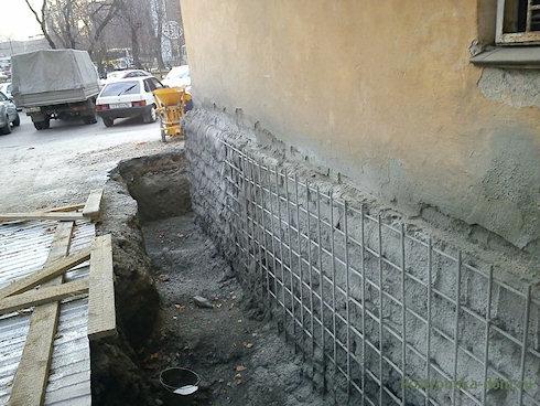 Если ваш дом в плохом состоянии - укрепите фундамент