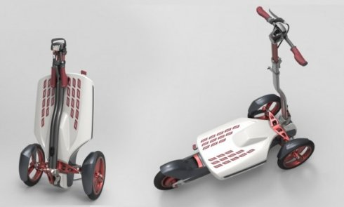 Представлен «умный» электрический самокат от Roadix Urban Transportation