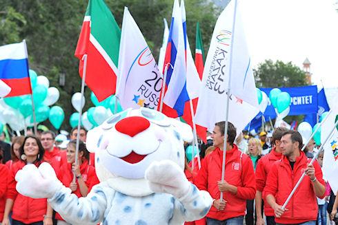 Казань: подготовка в Универсиаде-2013