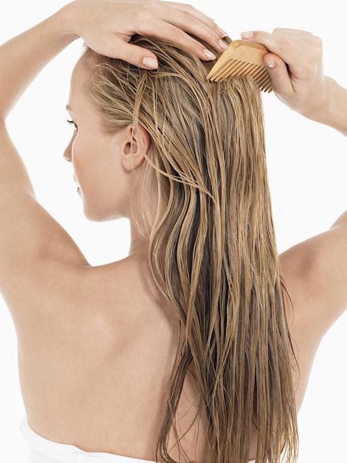 Уход за волосами с ленточным наращиванием