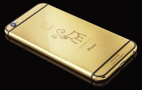 В честь Китайского Нового года выпустили эксклюзивный iPhone 6