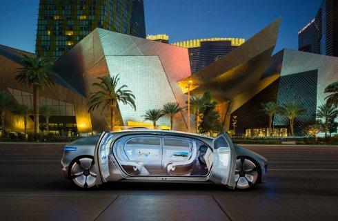 В Mercedes-Benz показали автомобиль будущего (ФОТО)