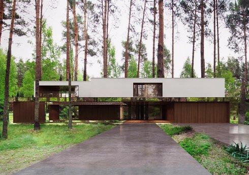В Польше построили дом, который парит в воздухе. Невероятно!
