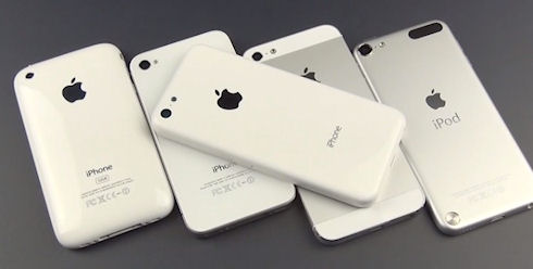 В сентябре стартует продажа iPhone 5s и iPhone 5c